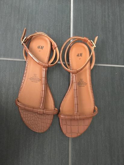check out 1bdd7 b8653 Rjavi sandali H&M, Idrija - mojbutik.si