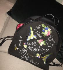 Originalen Love Moschino nahrbtnik