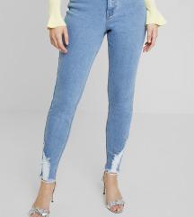 MISSGUIDED high waist hlače