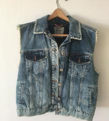 RETRO, VINTAGE jeans jakna