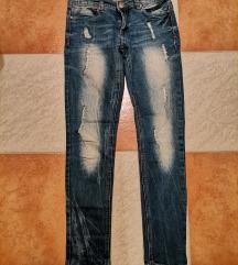 Jeans hlače xs/s