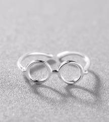 Prstan očala 925 srebrn