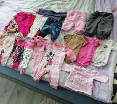 Oblačila za deklico 50/56