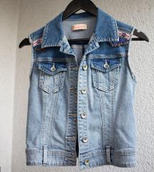 Jeans ombre brezrokavnik