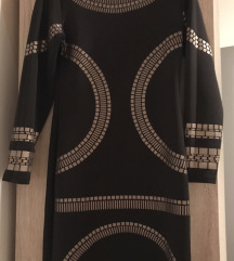 Obleka crno zlata