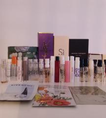 Testerji parfumov + škatlice