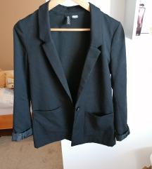 Črn blazer Hm