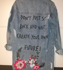 Jeans oversize jakna