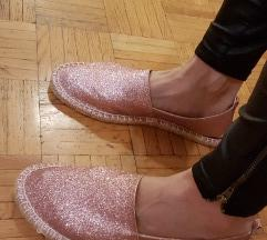 Novi sparkling roza sandali