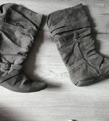 novi sivi škorenjčki