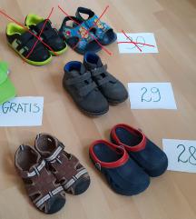 Otroški čevlji, obutev št. 28 - 29