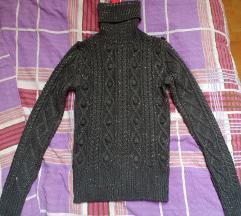 Z ETIKETO pleten pulover