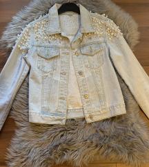NOVA jeans jaknica z biserčki