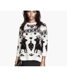 pulover jelencki h&m
