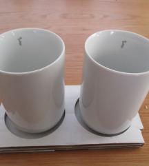 komplet dveh termo skodelic iz porcelana