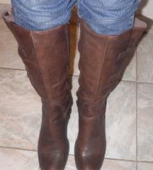 Usnjeni škornji Vera Gomma, 40