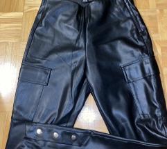 Usnjene hlače Zara