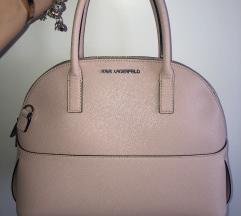 Karl Lagerfeld roza torbica