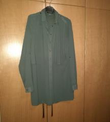 Nova Primark srajca olivno zelelne barve