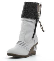 Škornji-beli