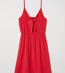 H&M nova obleka v rdeci barvi