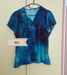 Modra srajca M/L