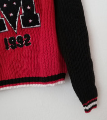ZNIŽ.Nov pleten pulovrček