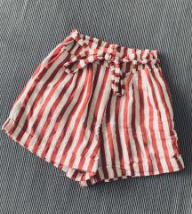 H&M paperbag kratke hlace