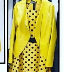 Limonino rumena jakna