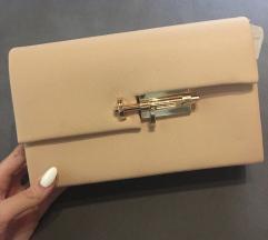 NOVA torbica z zlatim paskom