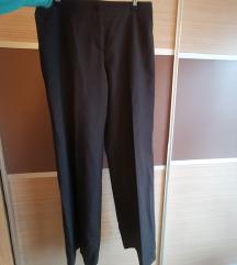 Benetton črne elegantne hlače