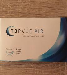 TOPVUE Air kotaktne leče -0.75