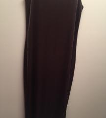Zara velvet obleka