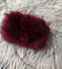 torbica faux fur