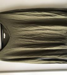 Olivno zelena majčka H&M XL
