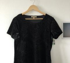 majica z bleščičastim vzorcem