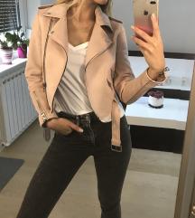 ZARINA roza prehodna jakna