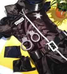 Policistka kostum komplet