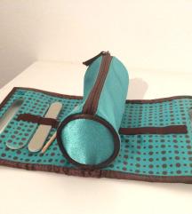 Kozmetična torbica s priborom za nego nohtov