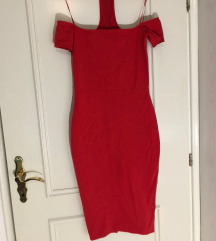 Rdeča obleka S/M