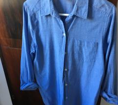 Daljša modra srajca - H&M