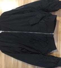 črna bomber jakna H&M