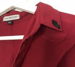 Bordo rdeča srajca / bluza Bershka