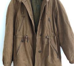 Usnjena topla vintage jakna