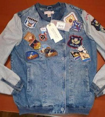 GUESS, retro jeans jakna, nova z etiketo