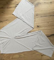 HM dolge široke hlače bež MPC 24,99 NOVE