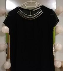 Črna prosojna srajčka Zara