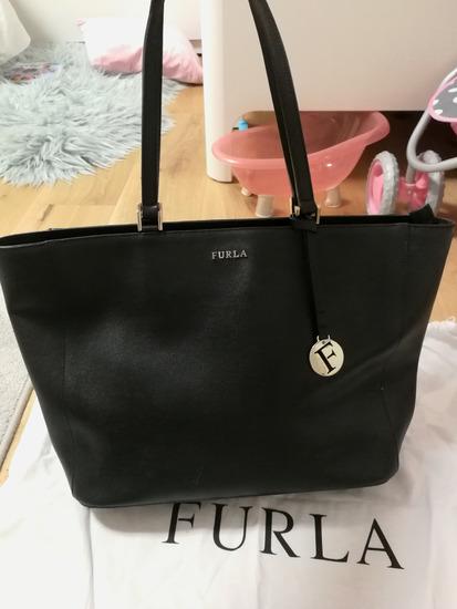 Furla torbica črna