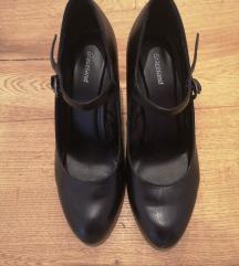 Črni čevlji z visoko peto