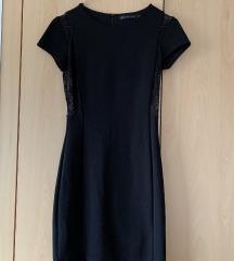 Črna oblekca Zara S